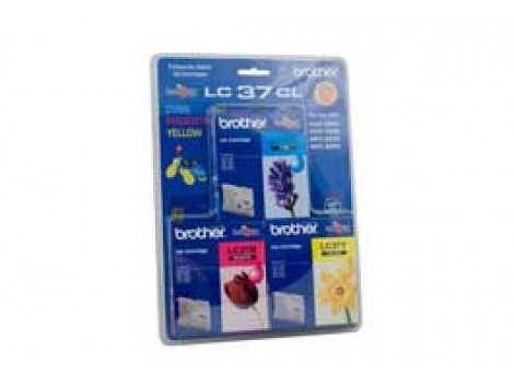 Genuine Brother LC-37CL3PK Colour Ink Cartridge