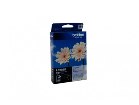 Genuine Brother LC-39BK Black Ink Cartridge