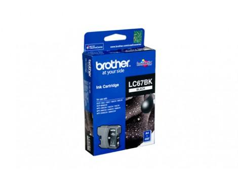 Genuine Brother LC-67BK Black Ink Cartridge