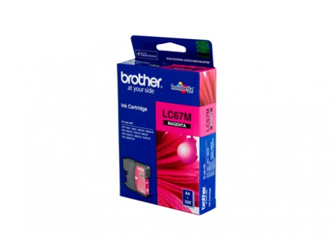 Genuine Brother LC-67M Magenta Ink Cartridge
