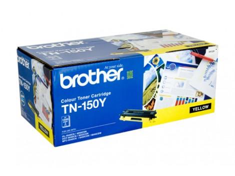 Genuine Brother TN-150Y Yellow Toner Cartridge