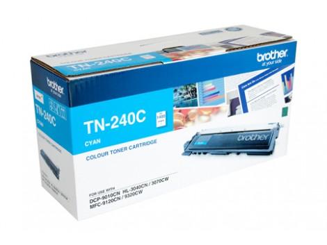 Genuine Brother TN-240C Cyan Toner Cartridge