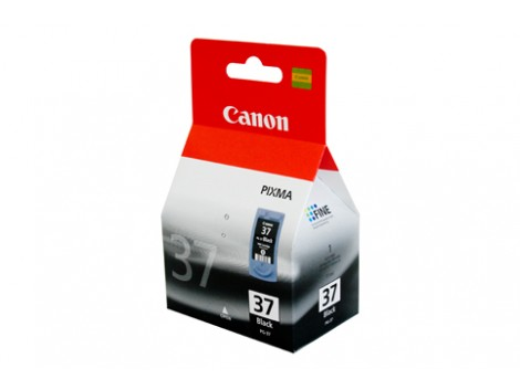 Genuine Canon PG37 Black Ink Cartridge