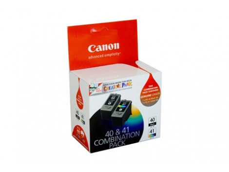 Genuine Canon PG40CL41CP Black Ink Cartridge