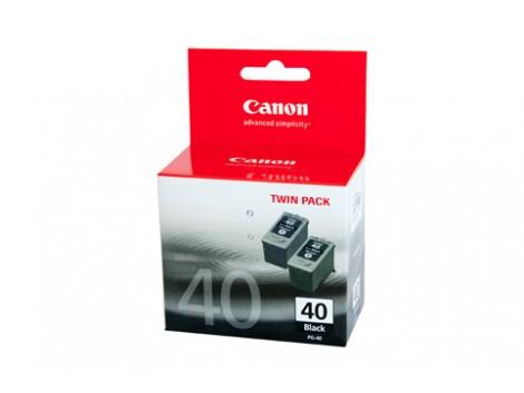 Genuine Canon PG40-TWIN Black Ink Cartridge