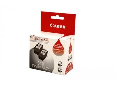 Genuine Canon PG510-TWIN Black Ink Cartridge