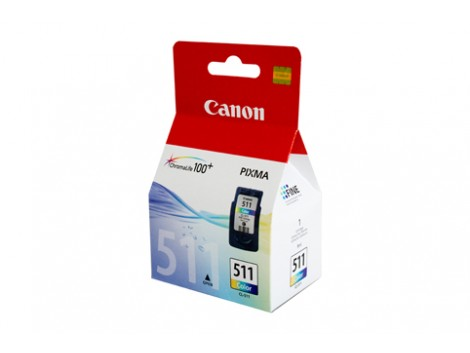 Genuine Canon CL511 Colour Ink Cartridge