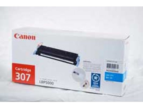 Genuine Canon CART307C Cyan Toner Cartridge