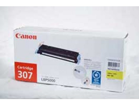 Genuine Canon CART307Y Yellow Toner Cartridge