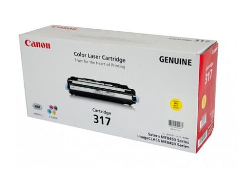 Genuine Canon CART317Y Yellow Toner Cartridge
