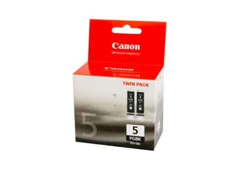 Genuine Canon PGI5BK-TWIN Black Ink Cartridge