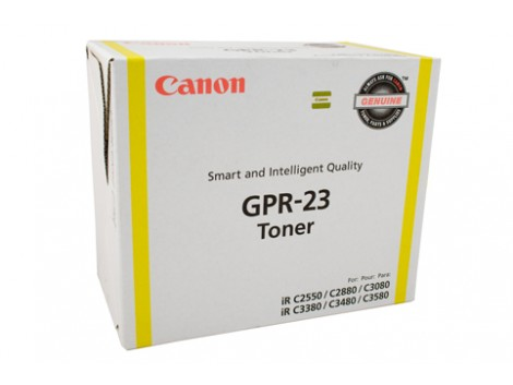 Genuine Canon TG-35Y Yellow Toner Cartridge