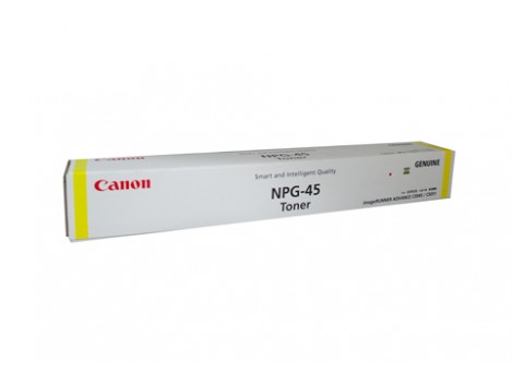 Genuine Canon TG45Y Yellow Toner Cartridge