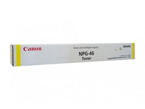 Genuine Canon TG46Y Yellow Toner Cartridge