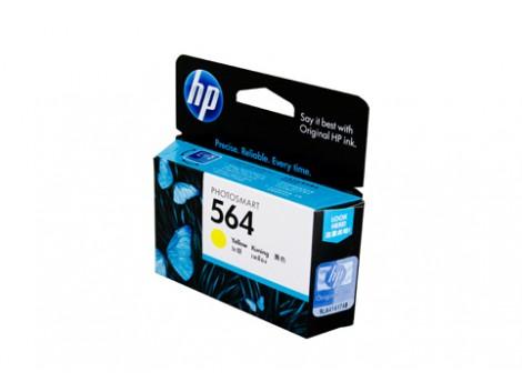 Genuine HP CB320WA Yellow Ink Cartridge