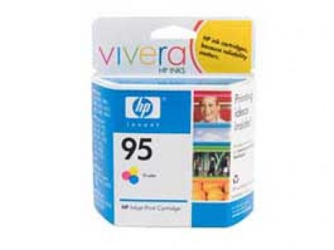Genuine HP C8766WA Colour Ink Cartridge