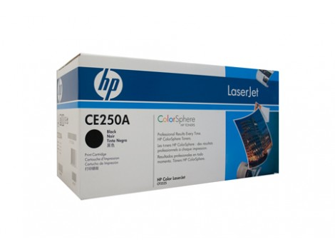 Genuine HP CE250A Black Toner Cartridge