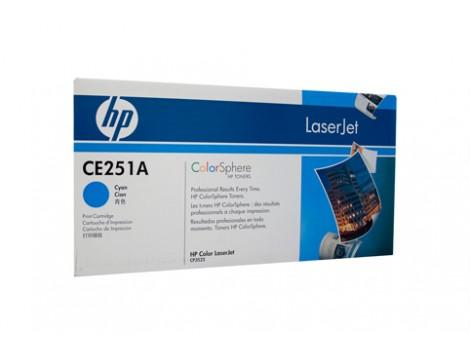 Genuine HP CE251A Cyan Toner Cartridge