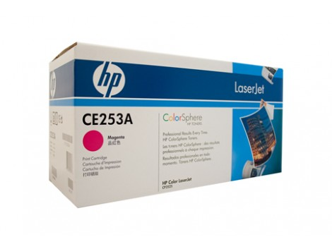 Genuine HP CE253A Magenta Toner Cartridge