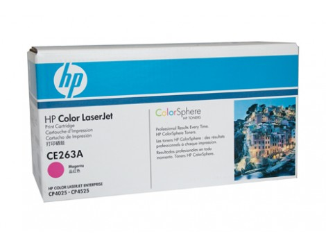 Genuine HP CE263A Magenta Toner Cartridge