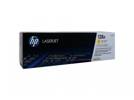 Genuine HP CE322A Yellow Toner Cartridge