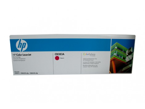 Genuine HP CB383A Magenta Toner Cartridge