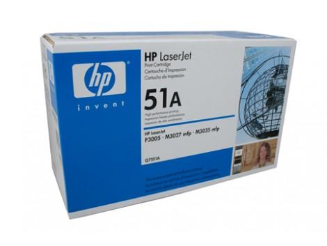 Genuine HP Q7551A Toner Cartridge