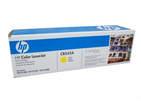Genuine HP CB542A Yellow Toner Cartridge