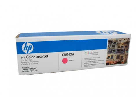 Genuine HP CB543A Magenta Toner Cartridge