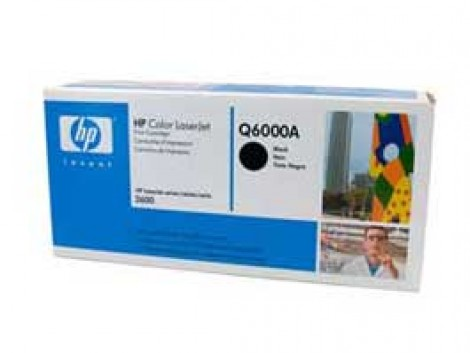 Genuine HP Q6000A Black Toner Cartridge