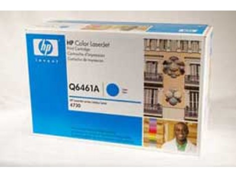 Genuine HP Q6461A Cyan Toner Cartridge