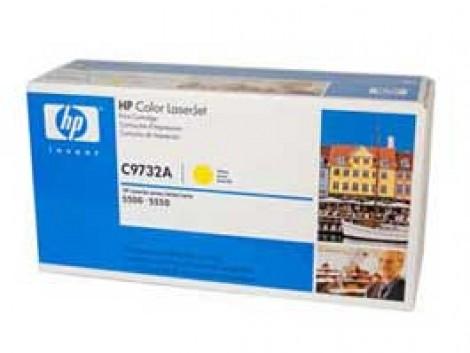 Genuine HP C9732A Yellow Toner Cartridge
