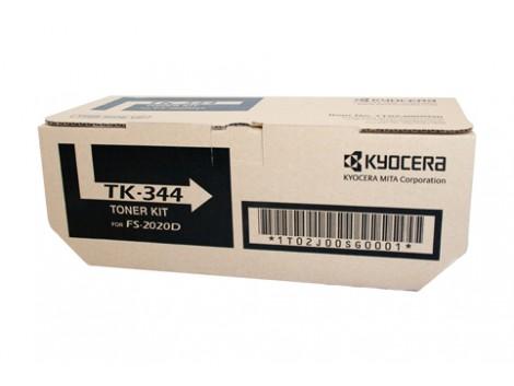 Genuine Kyocera TK-344 Black Toner Cartridge