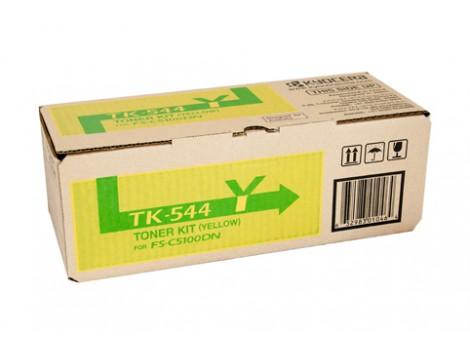 Genuine Kyocera TK-544Y Yellow Toner Cartridge