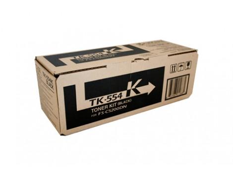 Genuine Kyocera TK-554K Black Toner Cartridge