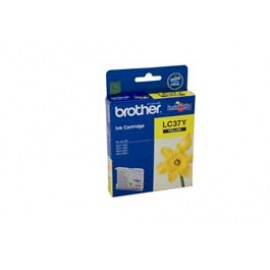 Genuine Brother LC-37Y Yellow Ink Cartridge