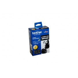 Genuine Brother LC-38BK2PK Black Ink Cartridge