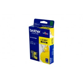 Genuine Brother LC-38Y Yellow Ink Cartridge