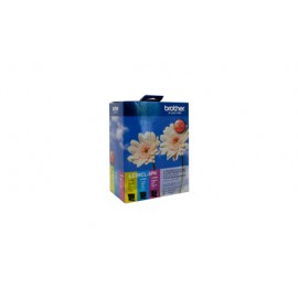 Genuine Brother LC-39CL3PK Colour Ink Cartridge