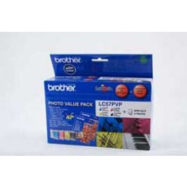 Genuine Brother LC-57PVP Ink Cartridge