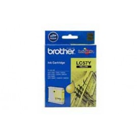 Genuine Brother LC-57Y Yellow Ink Cartridge