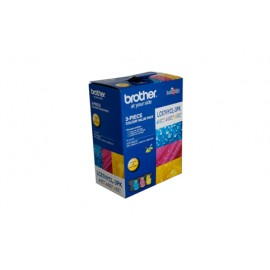 Genuine Brother LC-67HYCL3PK Colour Ink Cartridge