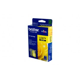 Genuine Brother LC-67Y Yellow Ink Cartridge