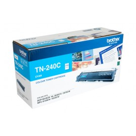 Genuine Brother TN-240C Cyan Toner Cartridge