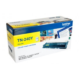 Genuine Brother TN-240Y Yellow Toner Cartridge