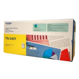 Genuine Brother TN-340Y Yellow Toner Cartridge