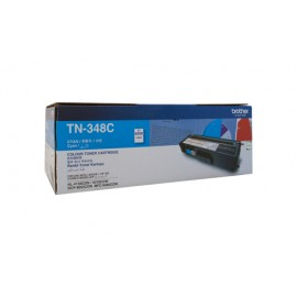 Genuine Brother TN-348C Cyan Toner Cartridge