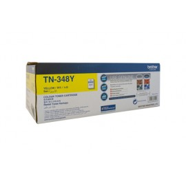 Genuine Brother TN-348Y Yellow Toner Cartridge