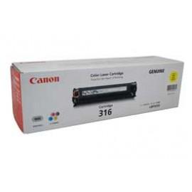 Genuine Canon CART316Y Yellow Toner Cartridge