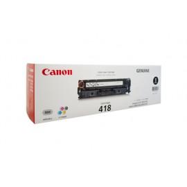 Genuine Canon CART418BK Black Toner Cartridge